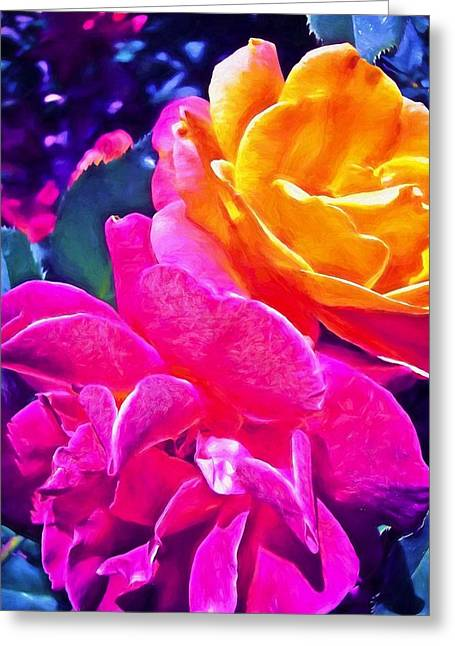 Rose 49 Greeting Card by Pamela Cooper