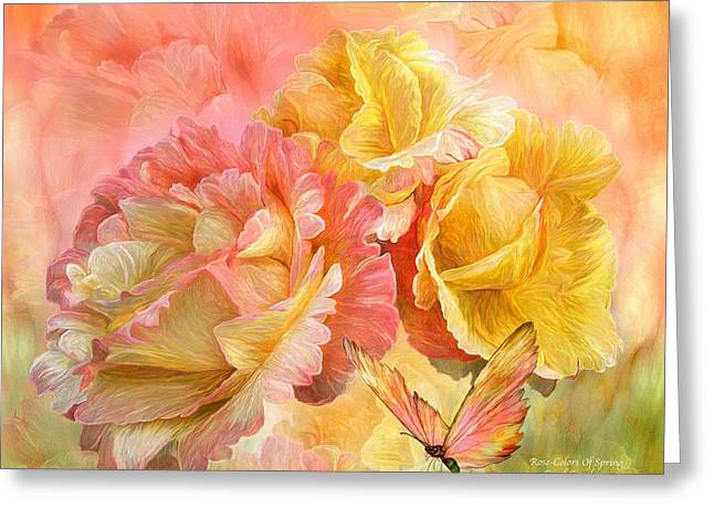 Rose - Colors Of Spring Greeting Card