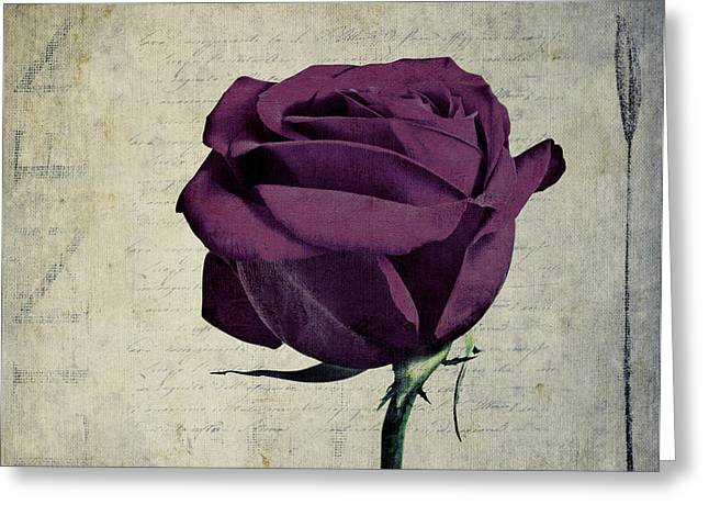 Rose En Variation - S09bt10 Greeting Card