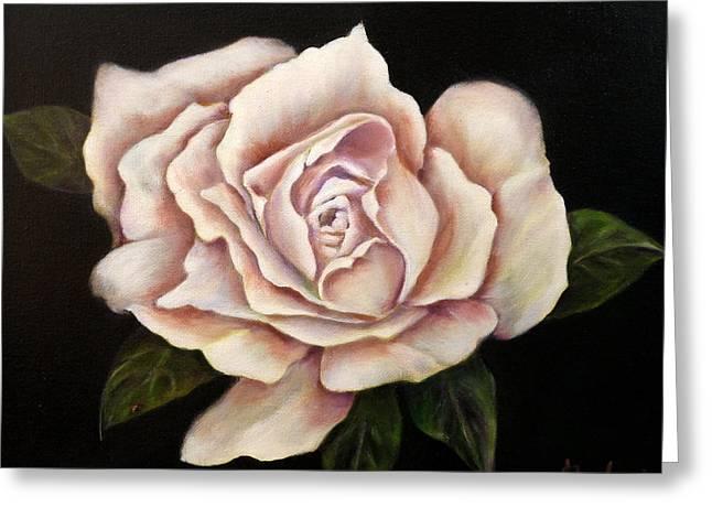 Rose Glow Greeting Card