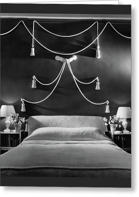 Rose Hobart's Bedroom Greeting Card by The 3