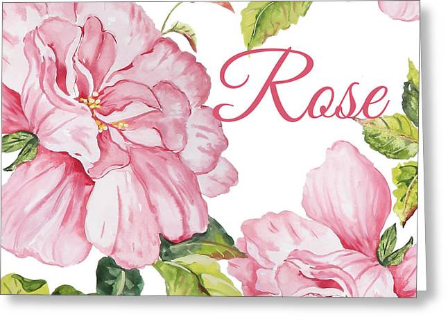 Rose-jp2590 Greeting Card by Jean Plout