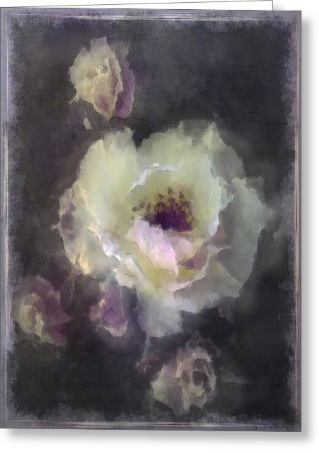 Rose Spray Greeting Card by Jill Balsam