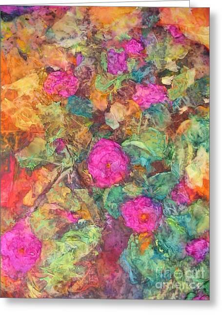 Rose Tree Greeting Card