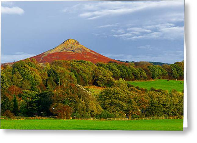 Roseberry Topping Yorkshire Moors Greeting Card