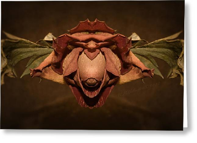 Greeting Card featuring the photograph Rosebird by WB Johnston