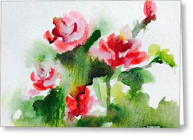 Roses Garden 3 Greeting Card