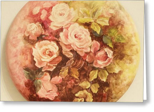 Roses In Pink Greeting Card