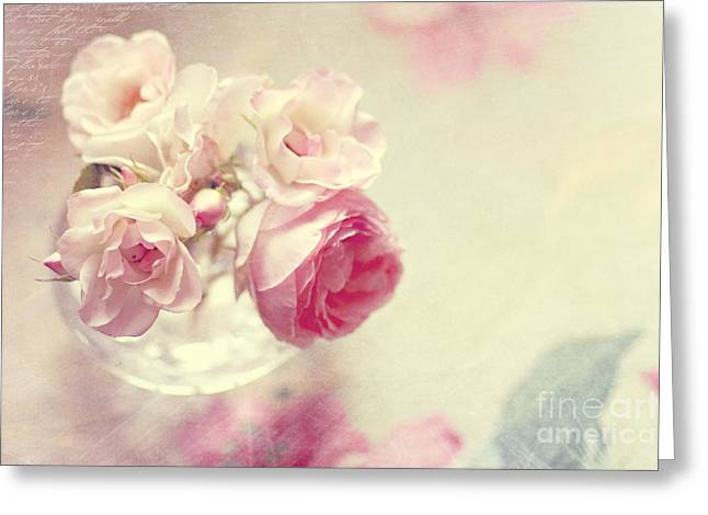 Roses Greeting Card by Sylvia Cook