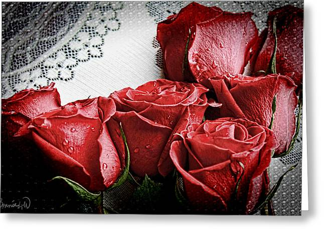 Roses To Remember Greeting Card