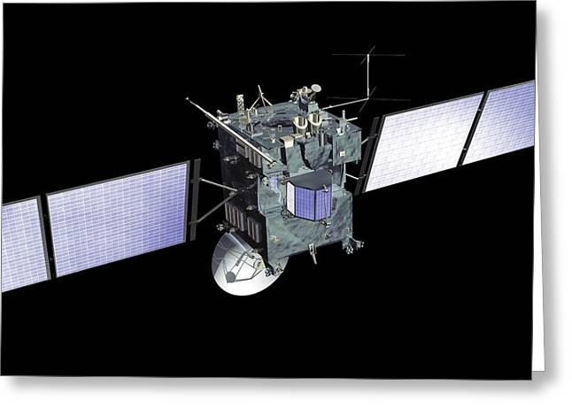 Rosetta Spacecraft Greeting Card by European Space Agency, Medialab