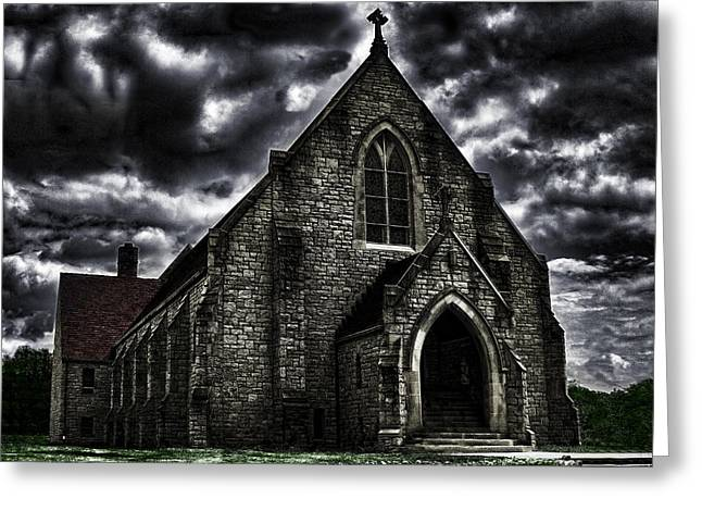 Roseville Ohio Church Greeting Card