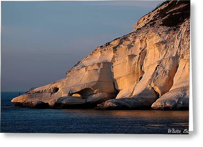 Rosh Hanikra Greeting Card