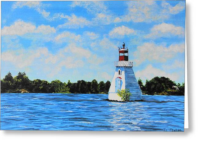 Rosseau Lighthouse Greeting Card