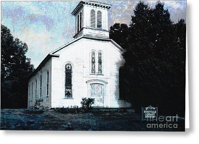 Rossville Church And Cemetery Greeting Card