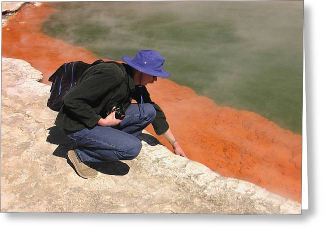 Rotorua New Zealand 2 Greeting Card by Mariusz Kula