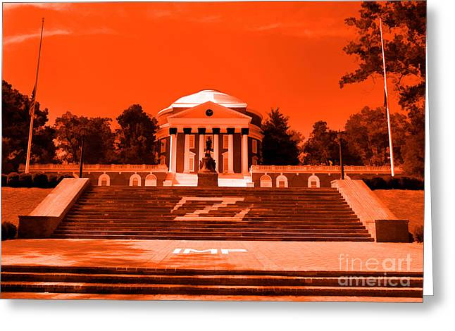 Rotunda Uva Orange Greeting Card
