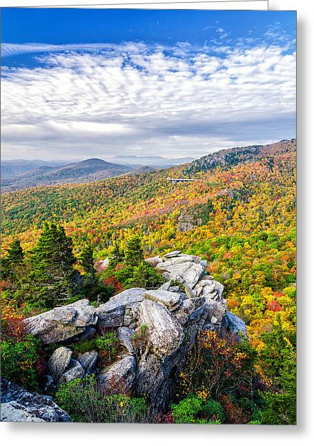 Rough Ridge Fall Greeting Card