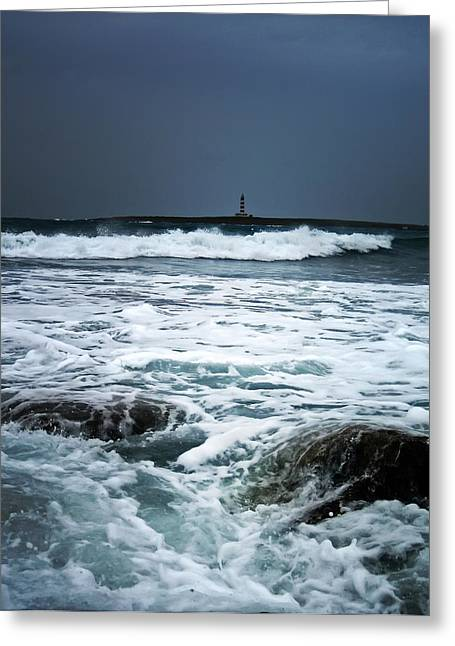 Coastal Storm Greeting Card