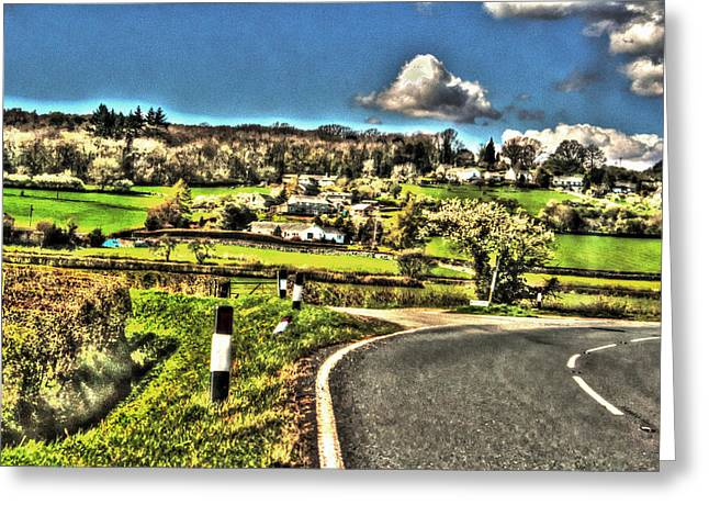 Greeting Card featuring the photograph Round The Bend by Doc Braham