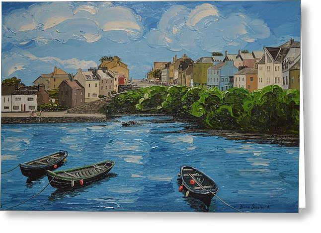 Roundstone Harbour Connemara Ireland Greeting Card