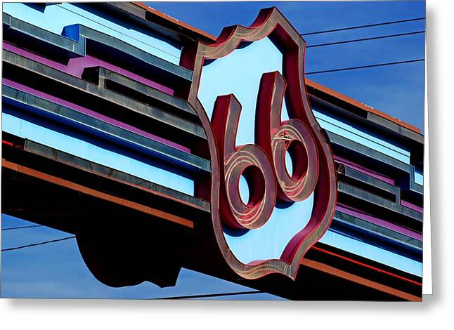 Route 66 Archway Greeting Card