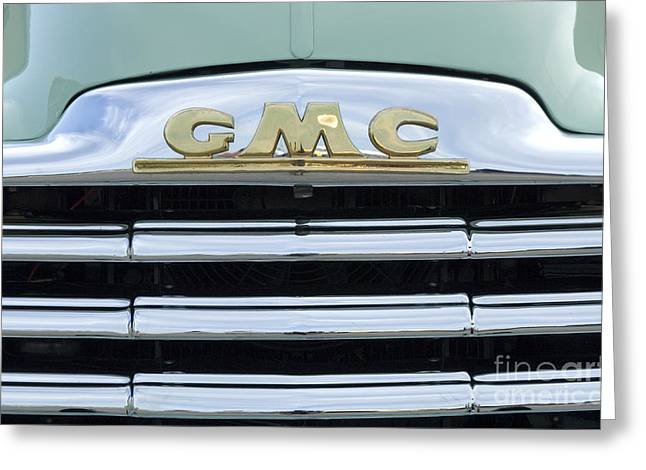 Route 66 Gmc Greeting Card by Bob Christopher