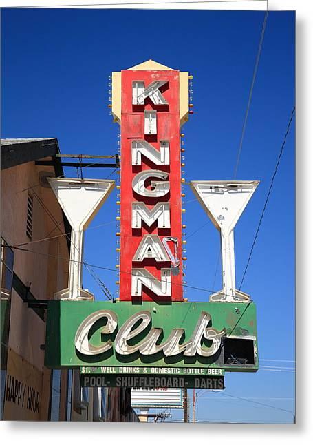 Route 66 - Kingman Club Greeting Card