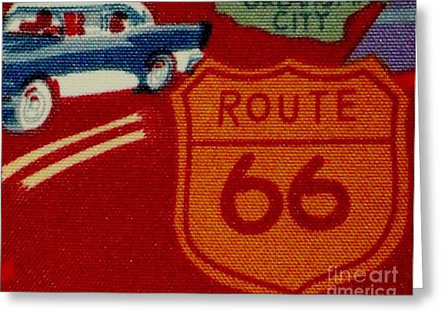 Route 66 Oklahoma City Greeting Card