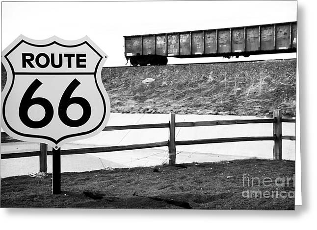 Route 66 Sante Fe Greeting Card
