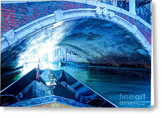 Greeting Card featuring the photograph Route To Light by Hanza Turgul