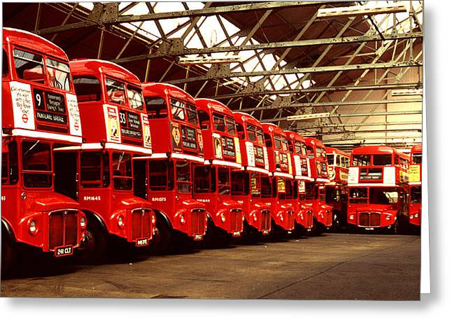 Routemasters Greeting Card