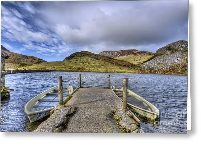 Row Ya Boat  Greeting Card by Darren Wilkes