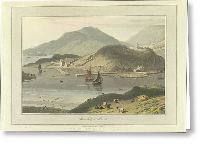Rowadill In Harris Greeting Card by British Library
