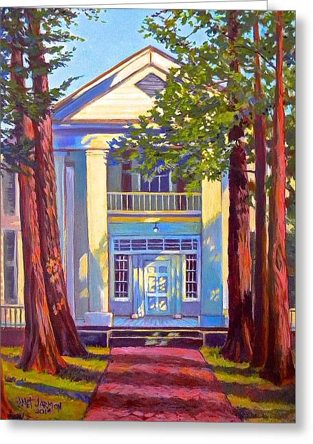 Rowan Oak Greeting Card by Jeanette Jarmon