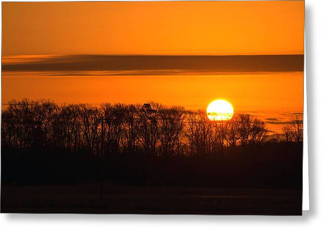 Greeting Card featuring the photograph Roxanna Sunrise by Bill Swartwout