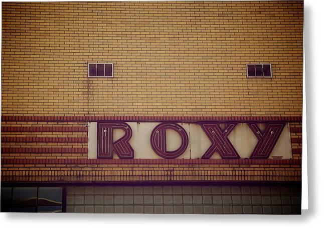 Roxy Greeting Card by Brandon Addis