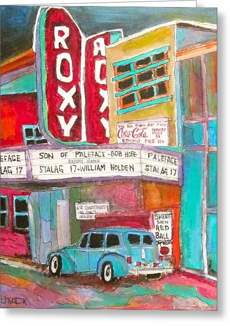 Roxy Theatre St. Agathe Greeting Card