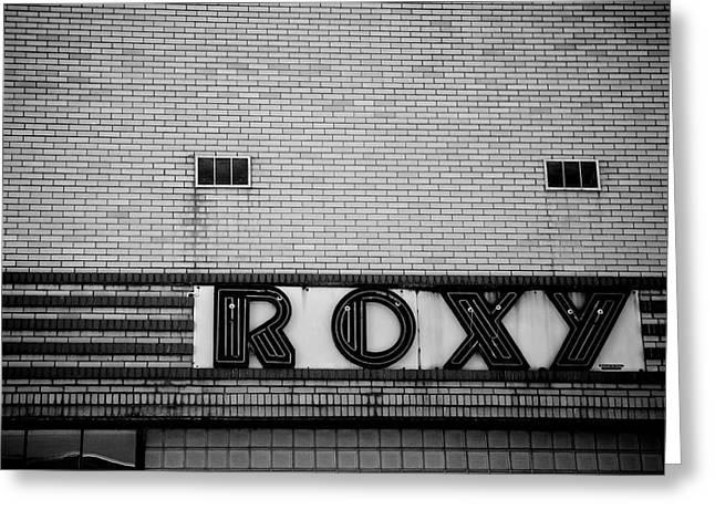 Roxy's Greeting Card by Brandon Addis