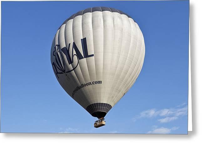 Royal Balloon Greeting Card