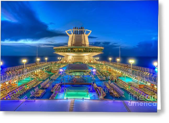 Royal Carribean Cruise Ship  Greeting Card
