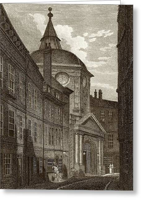 Royal College Of Physicians Greeting Card
