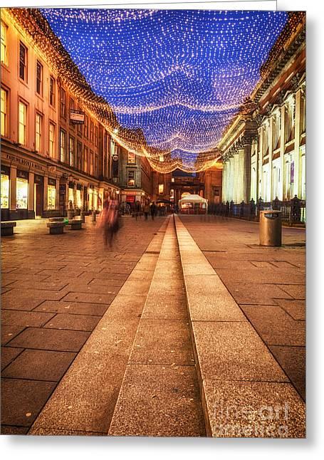 Royal Exchange Square  Greeting Card