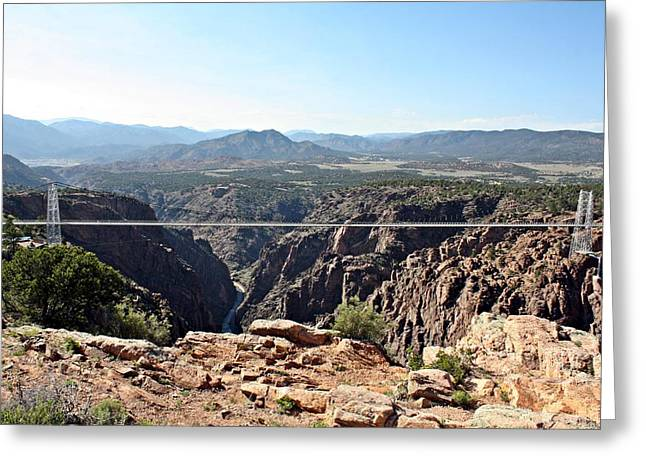 Royal Gorge Bridge Greeting Card