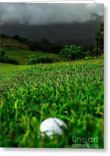 Greeting Card featuring the photograph Royal Hawaiian Golf by Angela DeFrias