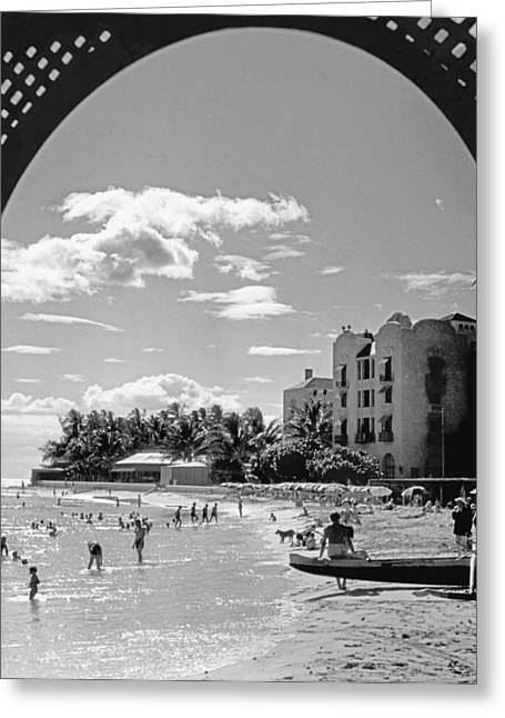 Royal Hawaiian Hotel Greeting Card