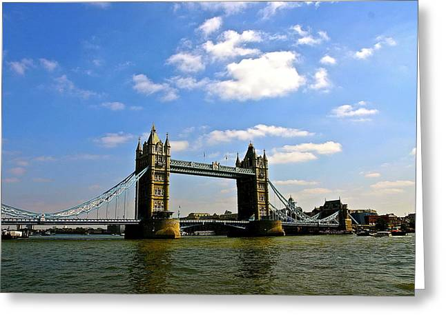 Royal London Bridge Greeting Card