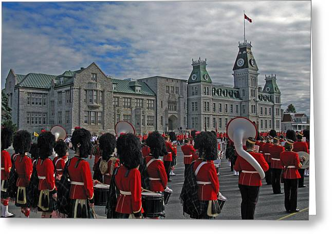 Royal Military College Of Canada On Parade Greeting Card