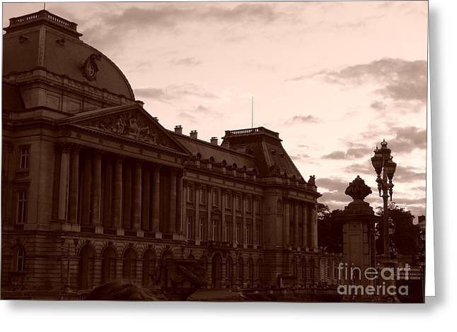 Royal Palace Brussels Greeting Card