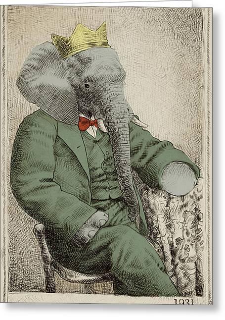 Royal Portrait Greeting Card